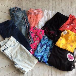 Big Girls Clothes Bundle size 10/12